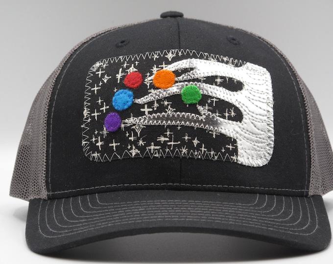 Baseball Hat/Trucker Hat Winter Tree