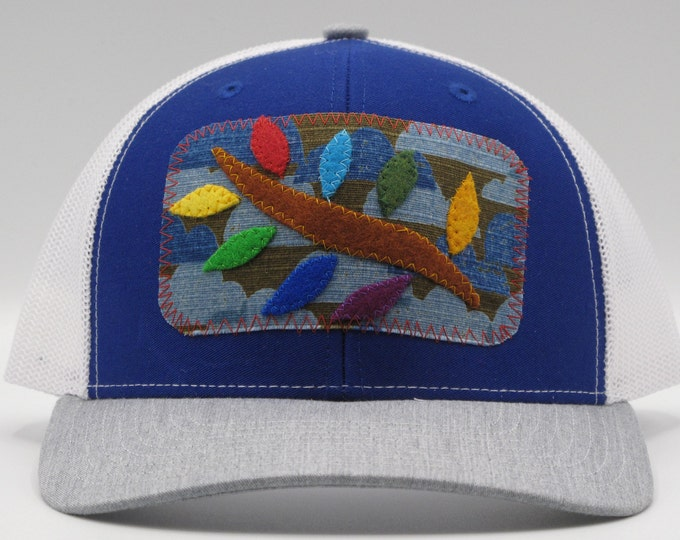 Blue Leaf Baseball/Trucker Hat