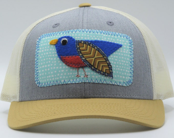 Little Bird Tri-Color Baseball Hat / Trucker Hat