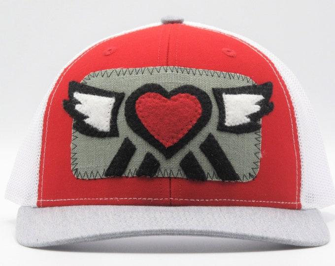 Big Love Red Trucker Hat