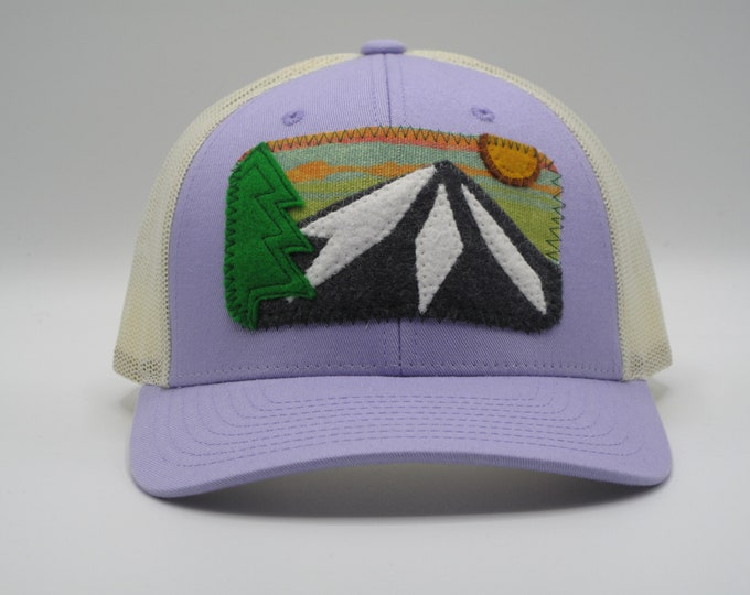 Mountain Trucker/Baseball Hat in Lavender