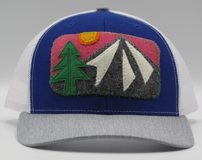 Gray Mountain, Pink Sky Trucker/Baseball Hat