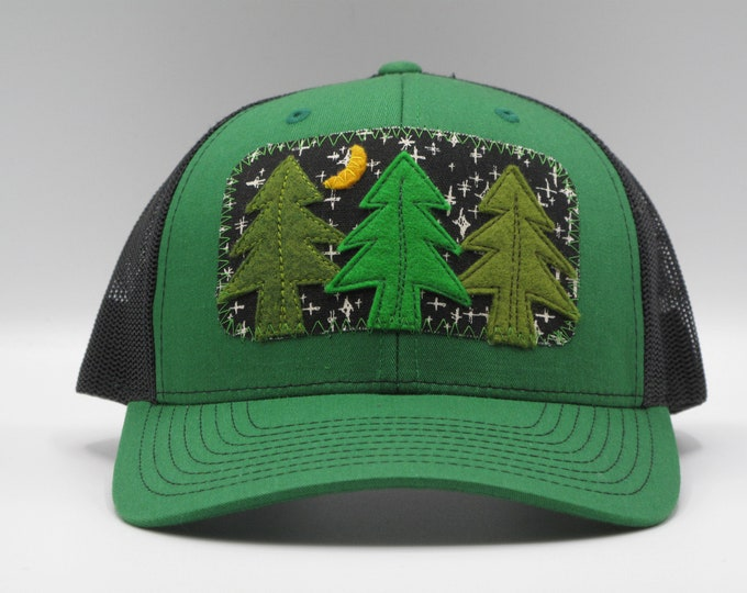 Night Trees Baseball/Trucker Hat