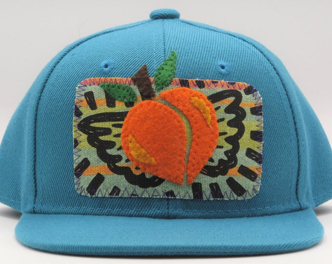 Flying Peach Toddler Size Trucker Hat