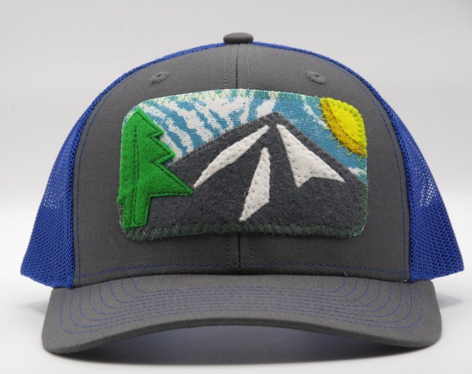 Big Blue Sky Baseball/Trucker Hat