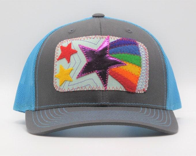 Rainbow Superstar Baseball/Trucker Hat