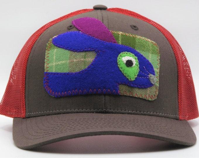 Blue Bunny Baseball Hat/Trucker Hat