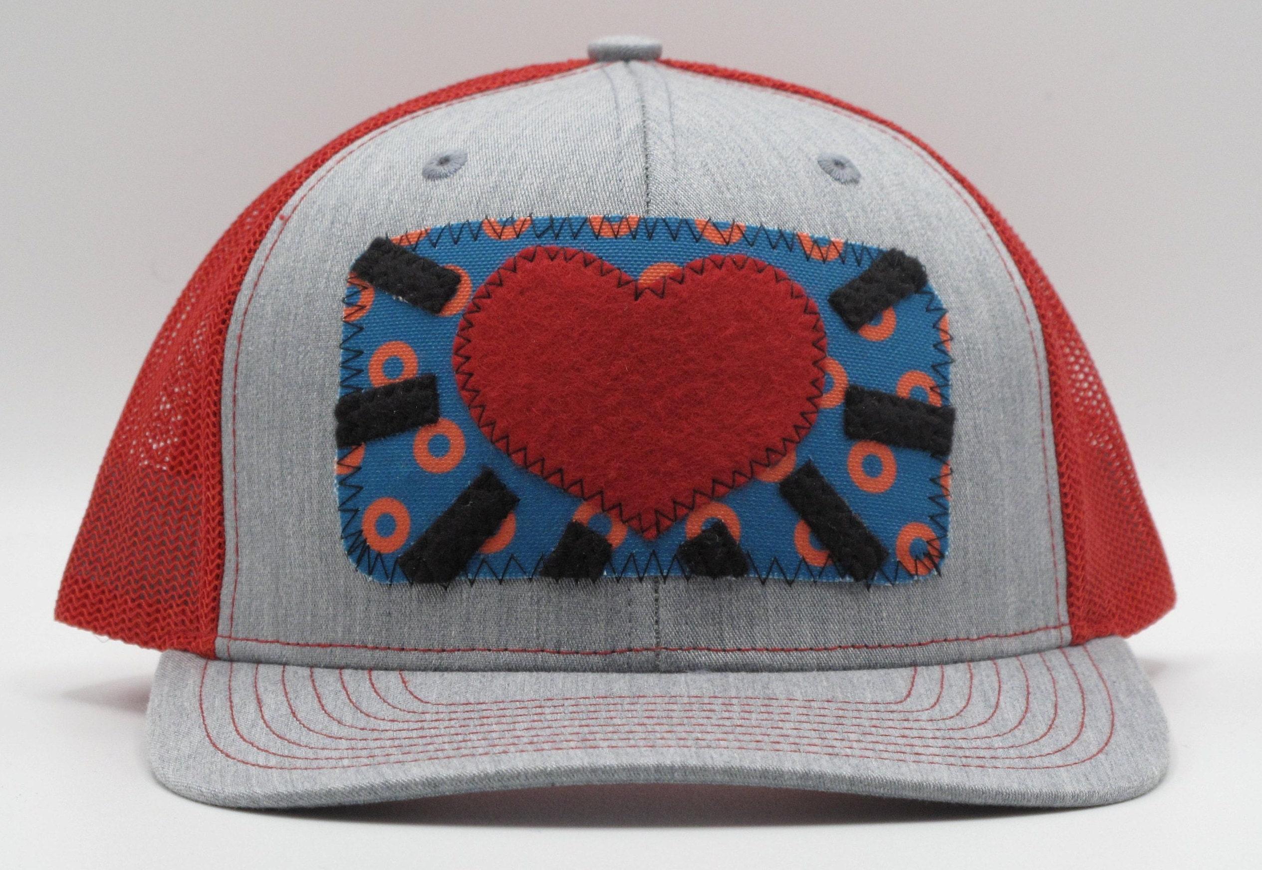 Phish Heart Baseball Trucker Hat 16bf2ca78510
