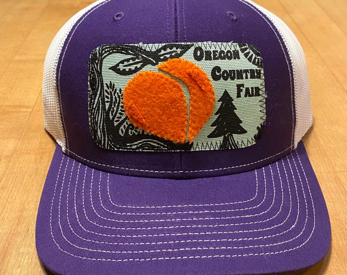 Oregon Country Fair hat for Susan O