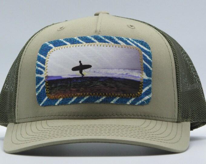 Lone Surfer Baseball Hat / Trucker Hat