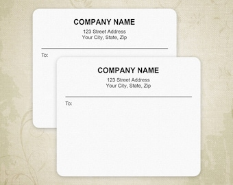 Return Address Labels for Avery 5160 Printable Envelope | Etsy