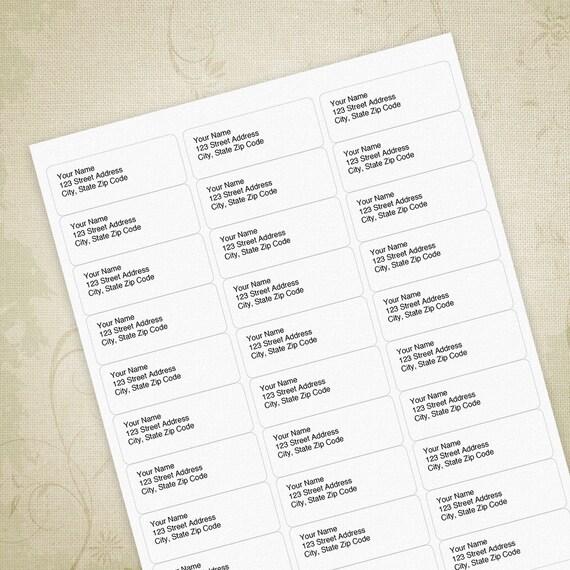 36 return address templates free monogram wedding invitation simple