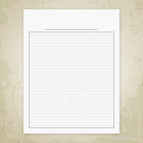 Papier Graphique Vierge Imprimable Téléchargement Numérique