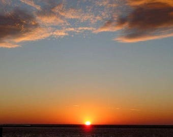 Tangerine sunset
