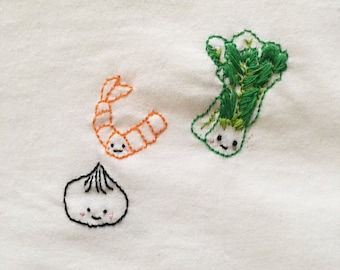 Dim Sum Embroidery