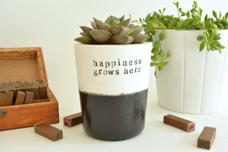 House-warming pot happiness grows here image 0