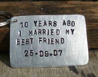 tin anniversary gift etsy