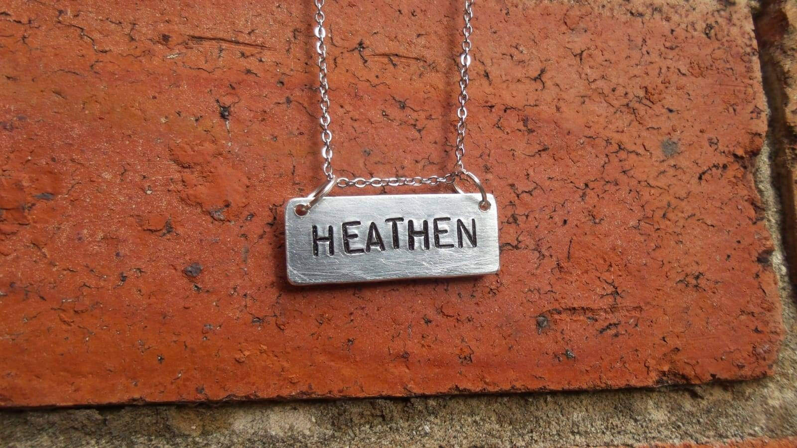 Halskette HEIDNISCHEN maßgeschneiderte handgefertigte Ketten | Etsy