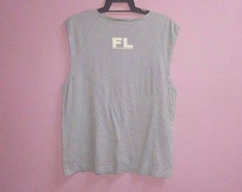 e0e5ec2fc Vintage Futura laboratories sleeveless tee shirt spell out large size