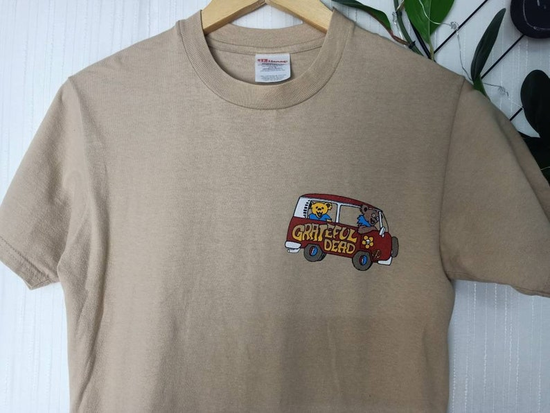 Vintage Grateful Dead band tee shirt spring road 95 tour small size