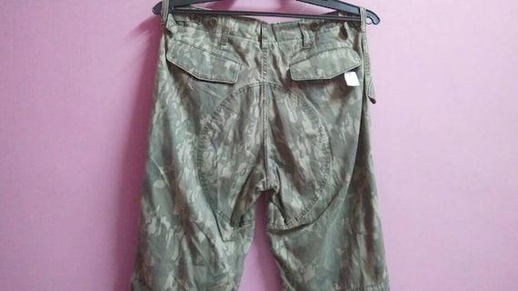 pant Tsumori medium waist camouflage chisato size Vintage cargo 31 dIAqPxXw