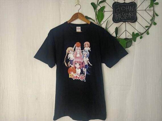 Vintage Ro-Kyu-Bu Novel Series Anime Comics Japan  Promo T Shirt Large Size
