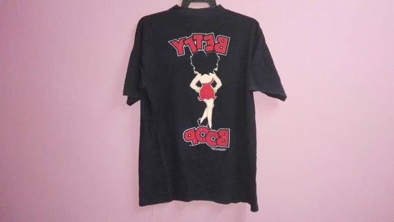 size Betty inc large fleischer shirt inc tee boop k L f 1988 s 80s Vintage studios Uzq566