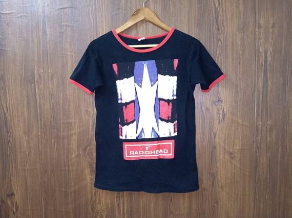 Vintage 90s Radiohead band tee shirt promo album m