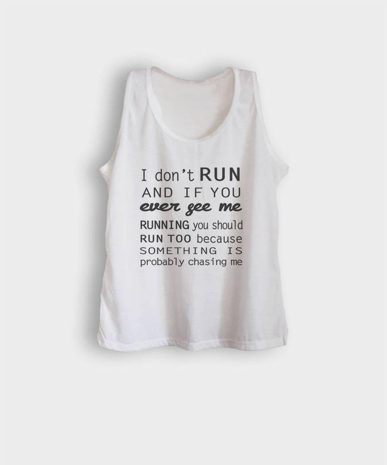 361748c3d3e50 Cute graphic tanks funny running tank tops t shirts womens