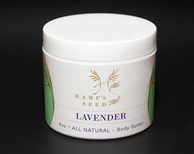 Hamp's Seed Body Butter | 4oz. - Additional Fragrances Available