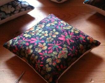 Pin cushion, handmade with Liberty fabrics, Elanora