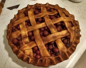 Faux Cherry Pie