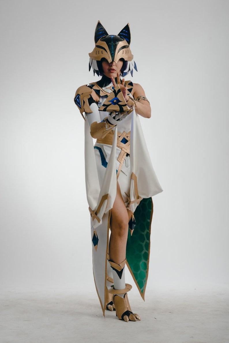 cosplay costume original Bastet Cyberpunk Ancient Egypt Cyberpunk