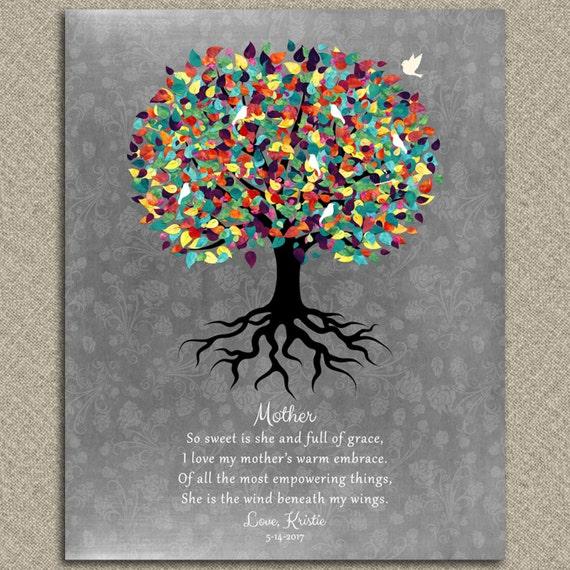 Vaak Dank u cadeau voor moeder van dochter gedicht voor Moederdag &QF38