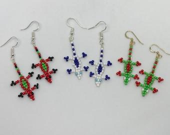 Multicolor EclectiCat Earrings B by The Elven Cat