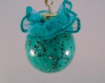 Pretty Robin Egg ornament ball