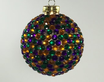 Carnivale ornament ball