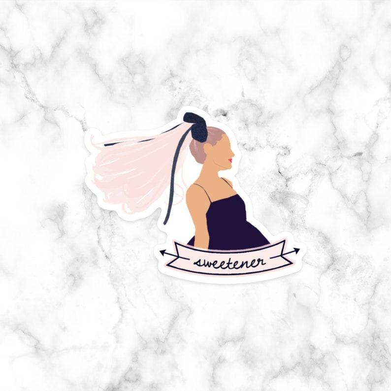 Ariana Grande Sweetener Sticker Laptop Sticker Decal Girl Etsy