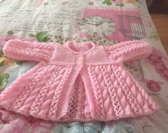 0914ebfbc46677 Items similar to Sock Yarn Sideways Swing Cardigan Knitting Pattern ...