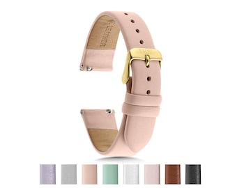 c5198bc95 Womens Watch Strap, 18mm Leather Watch Band, 14mm Watch Band, Replacement  Watch Band, 18mm Leather Watch Strap, 14mm Watch Strap, Ladies