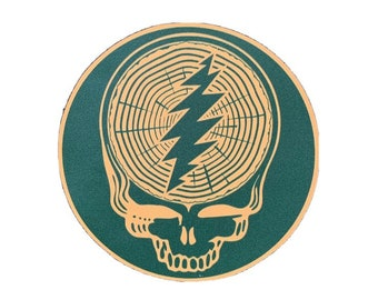 Timber Grateful-Dead Stickers (2)