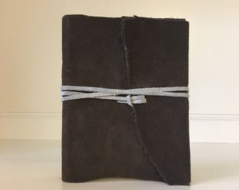 Leather Bound Notebook - Small, Brown
