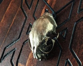 Feline Skull Necklace