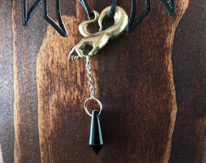 Pendulum Dowsing Necklace