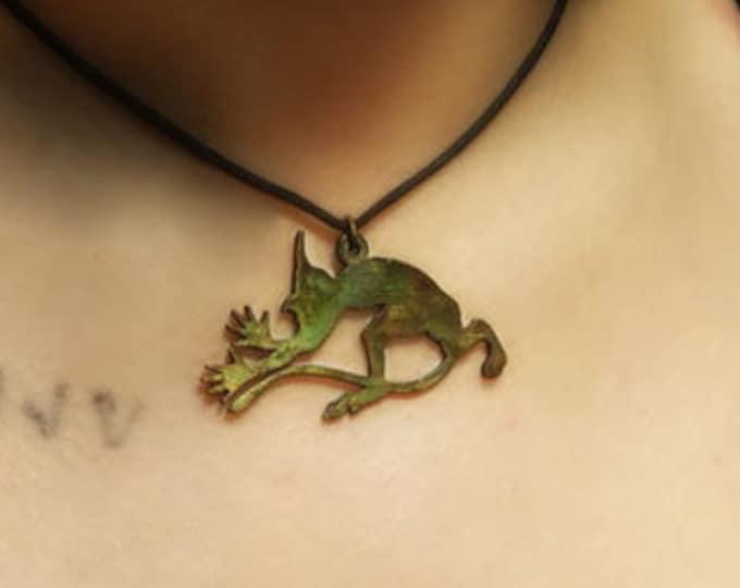 Satyr Pendant Necklace