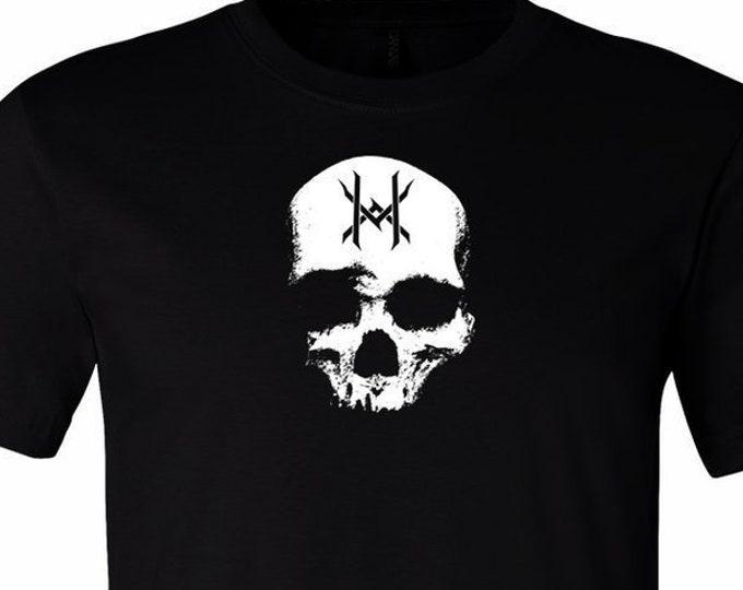 Ten Horns Skull Logo Shirt