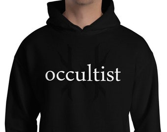 Ten Horns Occultist Hooded Sweatshirt