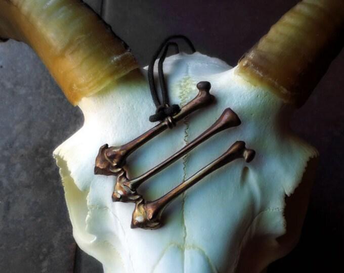 AntiFA Arrows Necklace Black North Collection