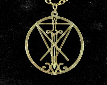 The Luciferian Dominion Pendant Necklace