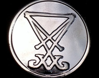 Lucifer Sigil Lapel Pin